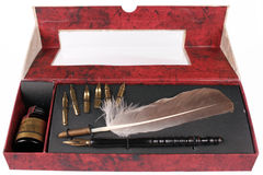 Feather Pen Stock Images