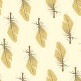 Feather Texture Tile. Seamless tile  texture pattern, small feather Royalty Free Stock Images