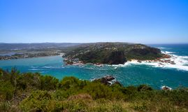 Featherbed-Ansicht, Knysna, Südafrika lizenzfreie stockbilder