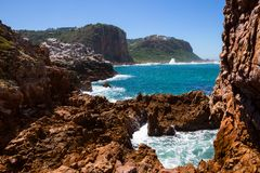 Featherbed, Knysna Heads, Knysna, South Africa. Featherbed, Knysna, Featherbed Nature Reserve, Garden Route, Western Cape, South Africa Stock Images