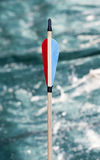 Feathering arrow for archery Royalty Free Stock Photography