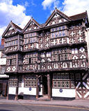 The Feathers Hotel, Ludlow. Stock Images