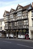 Feathers Hotel in Ludlow royalty free stock photo