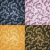 Feathers pattern Royalty Free Stock Images
