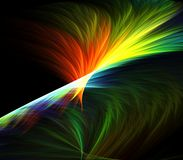 Feathery Colorful Abstract Stock Images