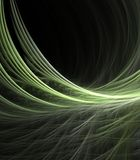 Feathery Green Abstract Royalty Free Stock Images