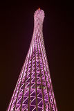 Feature of Canton Tower Stock Image