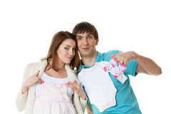 Feature parents Royalty Free Stock Images