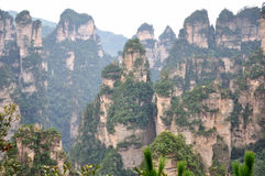 Featured mountain in Zhangjiajie�China Stock Images