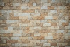 Featured stone tiles wall background texture. Clean and ordinary Royalty Free Stock Image