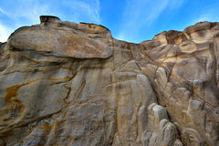 Featured weathering granite Royalty Free Stock Photography
