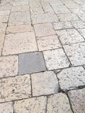 Features paving stones of Brindisi, a town in Puglia. Features paving stones brindisi town puglia royalty free stock photo