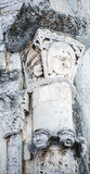 Features white stone carving at St. George`s Cathedral Stock Photo