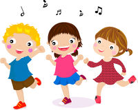 Featuring Dancing Kids. Illustration of Featuring Dancing Kids Stock Photos