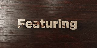 Featuring - grungy wooden headline on Maple  - 3D rendered royalty free stock image. This image can be used for an online website banner ad or a print postcard Royalty Free Stock Photo