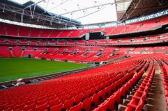 Wembley football stadium, London UK Royalty Free Stock Images