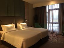 23 feb 2018, room at Mercure Selamgor Selayang, Malaysia. Room at Mercure Selangor stock photo