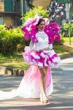 27 febbraio 2015 Baguio, Filippine Baguio Citys Panagbenga F Fotografia Stock
