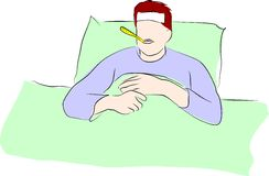 feber har I stock illustrationer