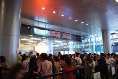 Febre de Krispy Kreme em Tailândia Fotos de Stock