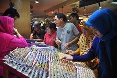 FEBRE DE PEDRA PRECIOSA DE INDONÉSIA Fotografia de Stock Royalty Free