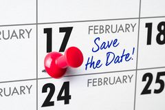 17. Februar Lizenzfreie Stockfotografie