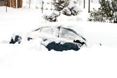 Februar 2010-Sturm Stockbild
