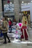27. Februar Purim - Bier-Sheva, Negev, Israel am 27. Februar 2015 Lizenzfreie Stockfotografie