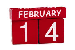 14 Februari Royalty-vrije Stock Afbeelding