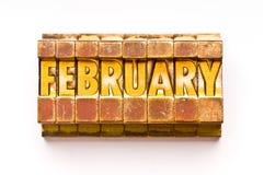 Februari stock afbeeldingen
