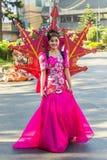 27 februari, 2015 Baguio, Filippijnen Baguio Citys Panagbenga F Royalty-vrije Stock Foto