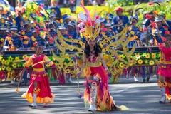 27 februari, 2015 Baguio, Filippijnen Baguio Citys Panagbenga F Royalty-vrije Stock Foto's