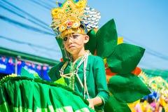 27 februari, 2015 Baguio, Filippijnen Baguio Citys Panagbenga F Royalty-vrije Stock Afbeeldingen