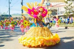 27 februari, 2015 Baguio, Filippijnen Baguio Citys Panagbenga F Stock Afbeeldingen