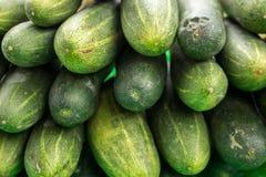 22, Februari 2017 Dalat--komkommervruchten Royalty-vrije Stock Afbeeldingen