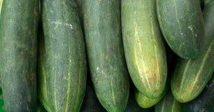 22, Februari 2017 Dalat--komkommervruchten Stock Fotografie