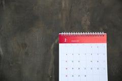 Februari de maand van liefde Stock Foto's