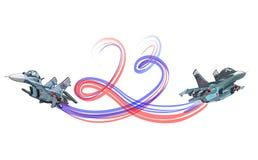 Februari för vektortecknad filmkort 23 ferie vektor illustrationer