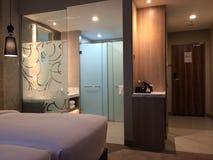 23 februari 2018, rum på Mercure Selamgor Selayang, Malaysia Royaltyfri Fotografi
