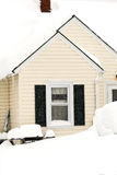February 2010 Storm Stock Image