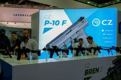 CZ Bren Gun display royalty free stock photography