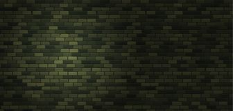 February 23 Background. Defenders of Fatherland Day. Green brick. Wall. Military texture ornament. National Military holiday in Russia. Template for postcard Royalty Free Stock Images