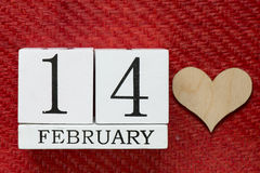 14 february background Stock Photography