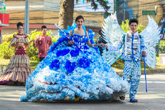 February 27, 2015 Baguio, Philippines. Baguio Citys Panagbenga F Stock Photo