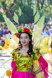 February 27, 2015 Baguio, Philippines. Baguio Citys Panagbenga F Royalty Free Stock Photo