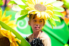 February 27, 2015 Baguio, Philippines. Baguio Citys Panagbenga F Royalty Free Stock Images