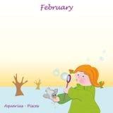 February base calendar to add the days. Base calendar to add the days Royalty Free Stock Photo
