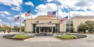 FEBRUARY 28, 2018 - COLLEGE STATION TEXAS - George H.W. Bush Presidential Library and. College Station, Presidential. FEBRUARY 28, 2018 - COLLEGE STATION TEXAS stock images