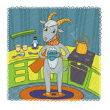 February goat Stock Photography