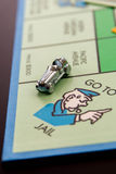 February 8, 2015: Houston, TX, USA.  Monopoly car on Go To Jail Stock Photography